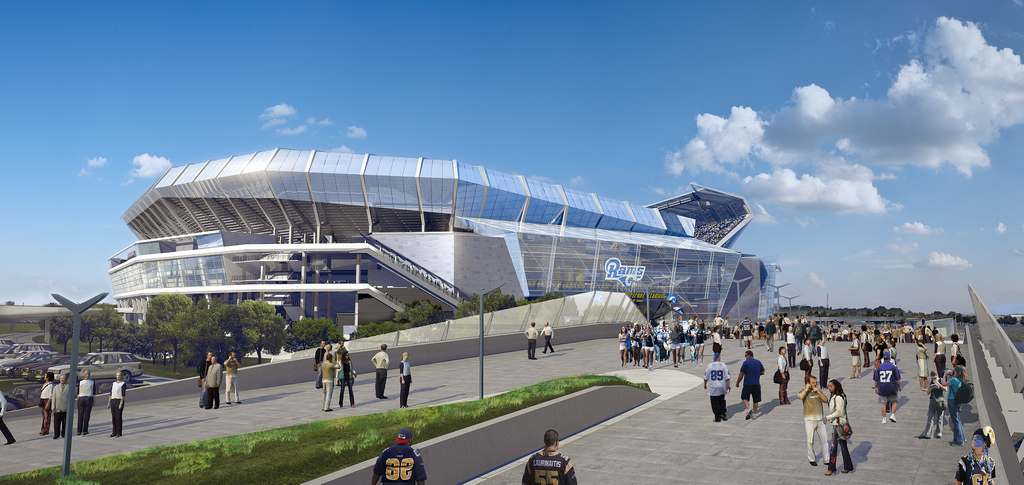 DRAFT St. Louis Riverfront Stadium Project Financing, Construction and Lease Agreement