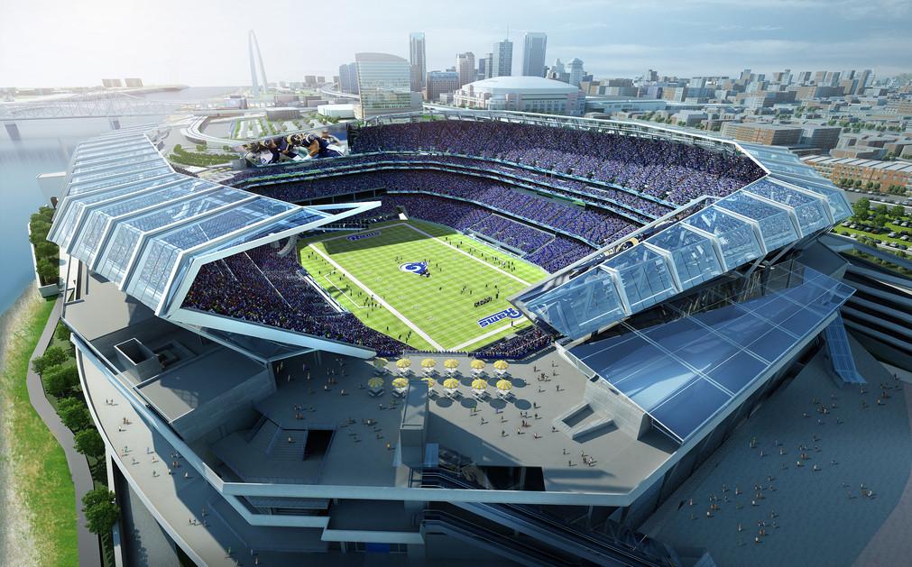 Revised Stadium Financing Plan Sent to St. Louis Board of Aldermen
