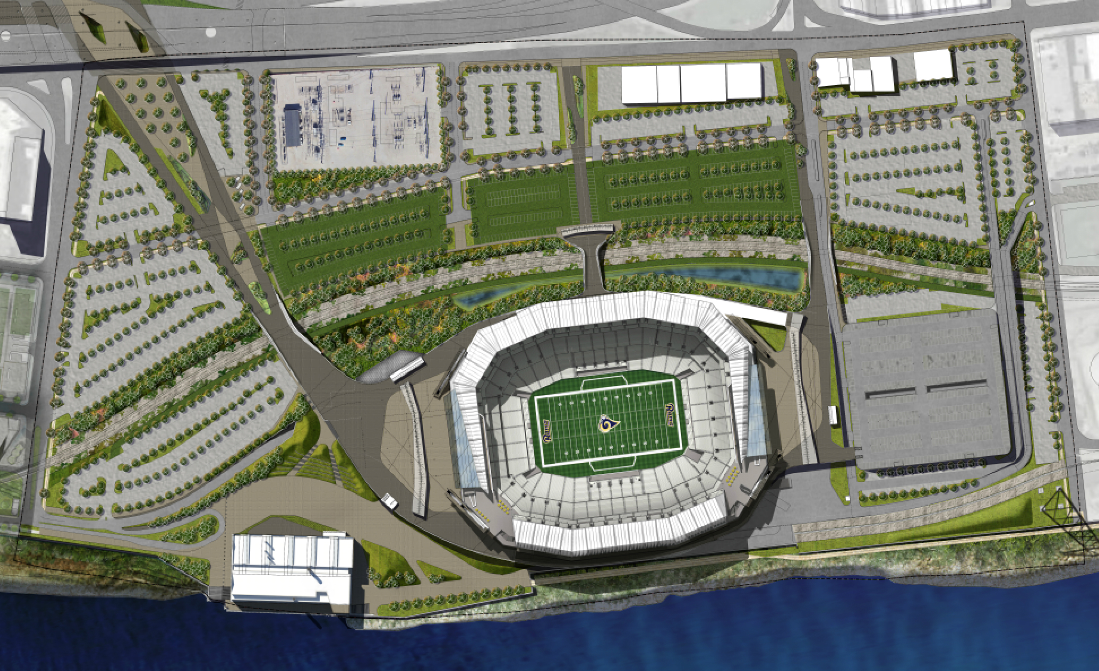NFL stadium proposal - St. Louis, MO 09/01/2015