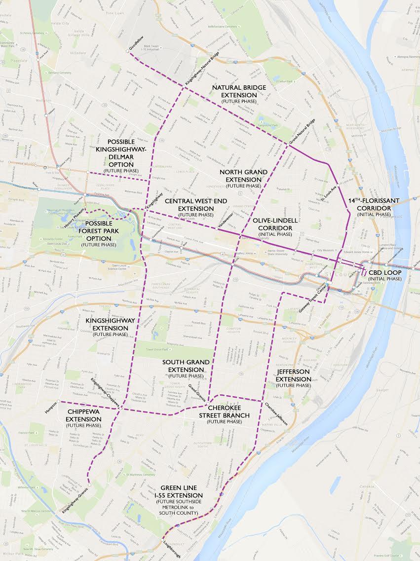 St. Louis Streetcar: A Vision for Urban Rail