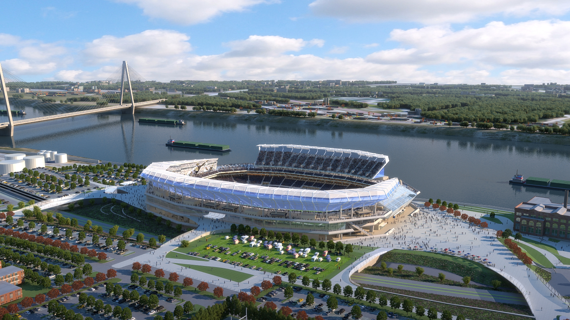NFL stadium proposal - St. Louis, MO 04/23/2015