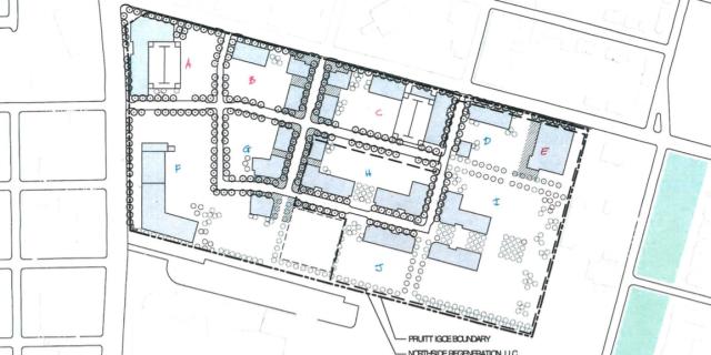 Pruitt-Igoe redevelopment plan, LCRA - St. Louis, MO