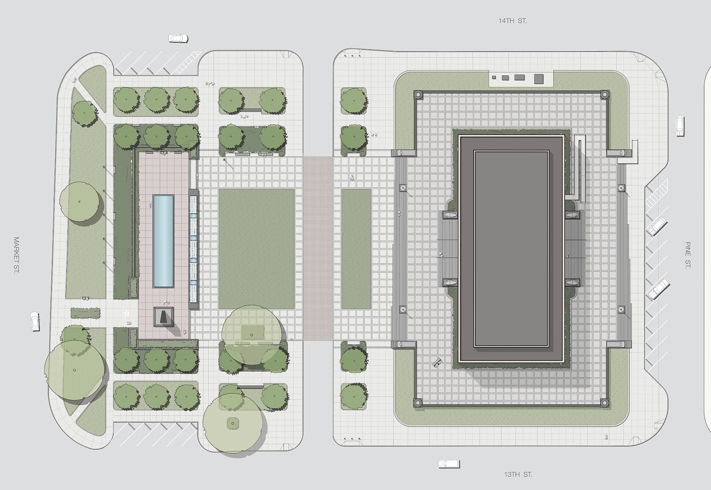 Soldiers Memorial Military Museum renovation plans - St. Louis, MO