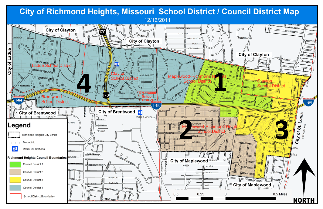 Richmond Heights District Map