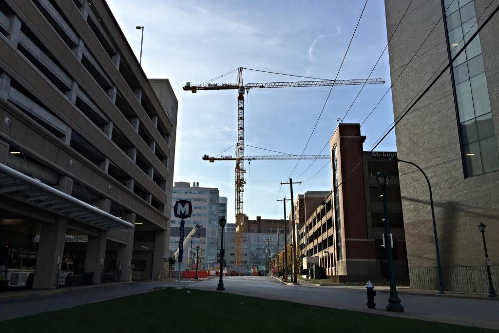 BJC/WUSM campus under construction