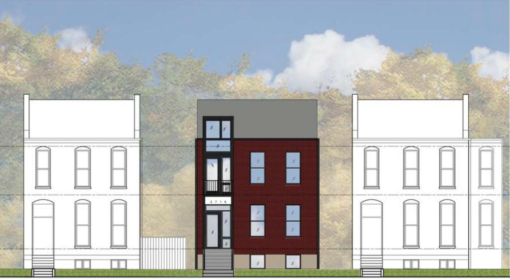 2716 Indiana facade context