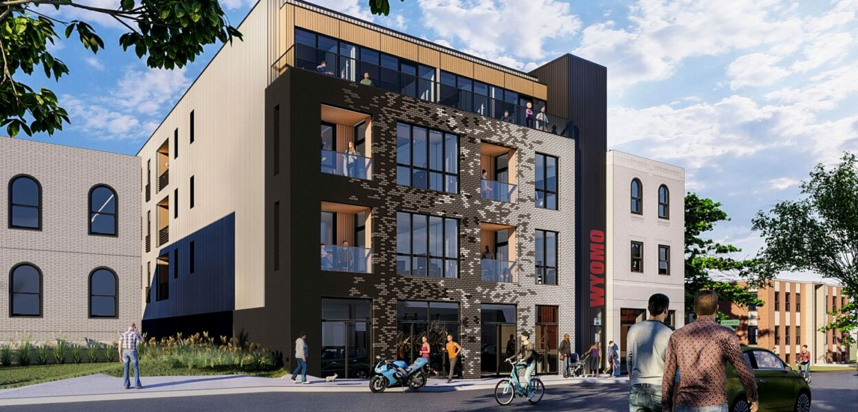 Wyomo 3201 Morgan Ford Building Permit Submitted