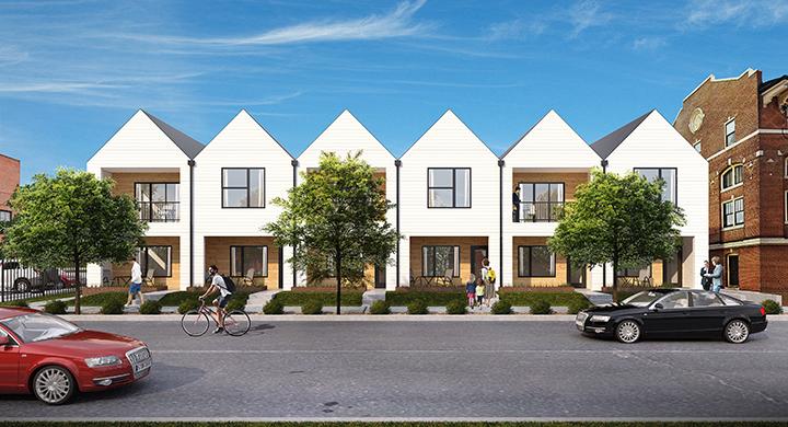 Blackline to Build 12 Apartments in Gravois Park