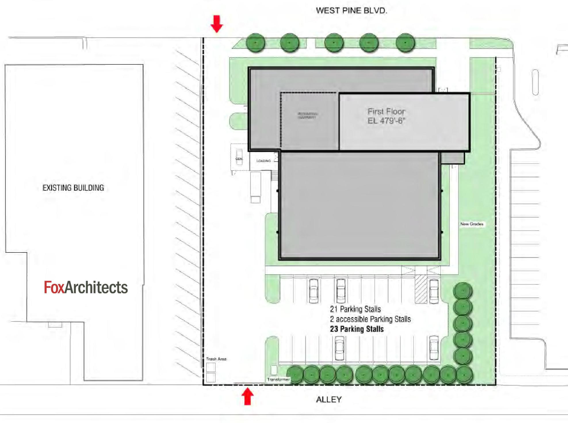3920 West Pine_site plan
