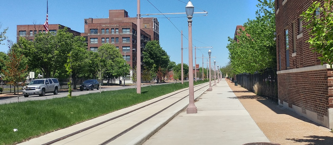 Loop Trolley Corridor Photo Tour: DeBaliviere