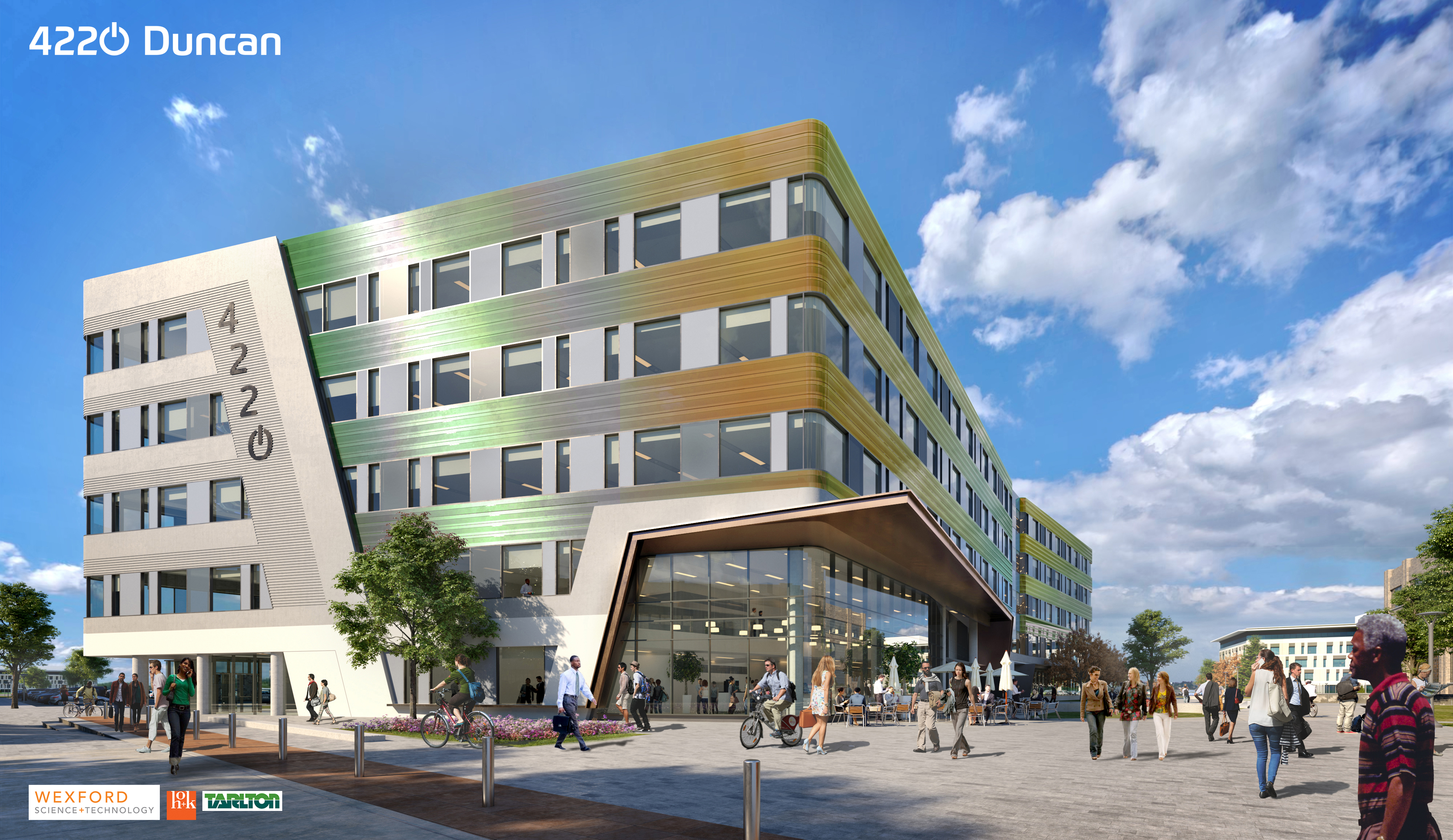 microsoft makes it official becomes new headline tenant at cortex the residential component consisting of 200 apartments and a parking garage has been delayed but the aloft hotel and venture cafe innovation hall are