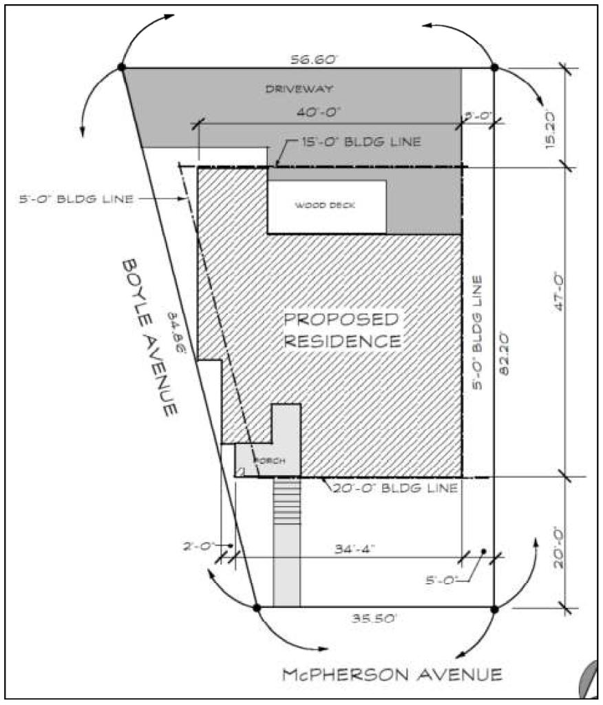 4300 McPherson site plan