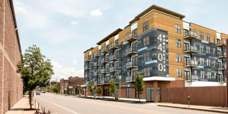 Restoration St. Louis Returns with Plan for 4400 Manchester Mixed-Use Infill