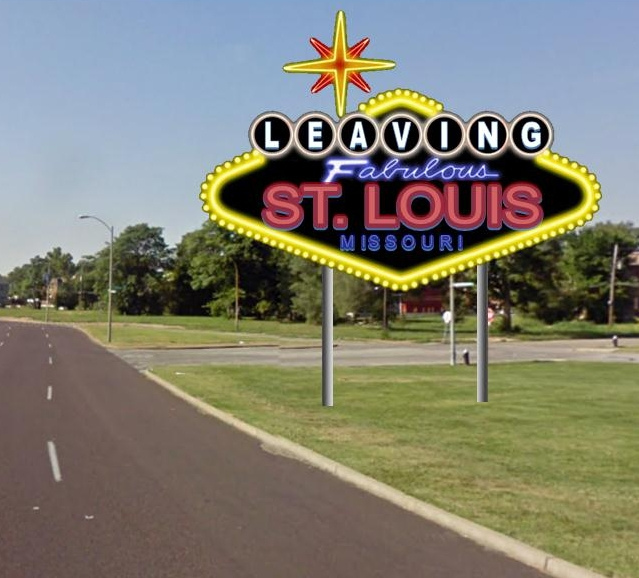 Leaving Fabulous St. Louis, Missouri