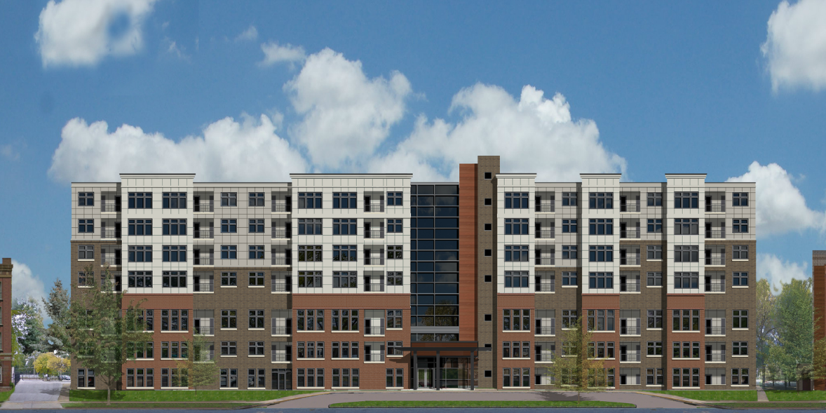 New Apartment Building Proposed for Pershing Avenue Surface Parking Lot