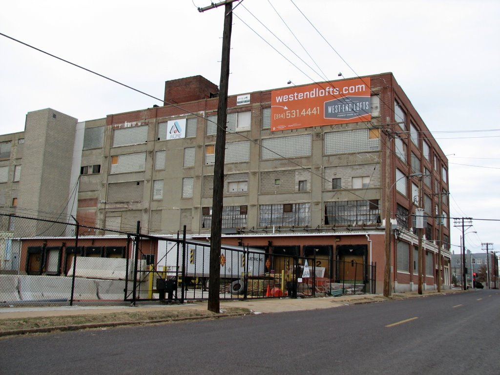 the West End Lofts building could have been lost to demolition