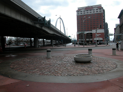 I-70 and the arch