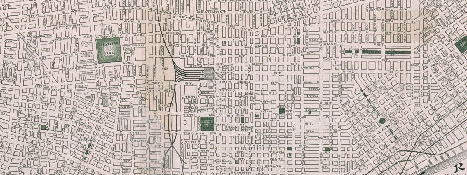 map of stl 1916 cropped