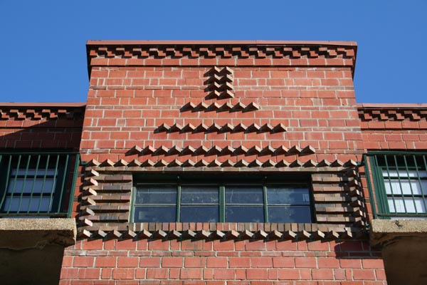 brick detail photo from Built St. Louis