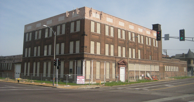 the American Baking Company building at Forest Park Avenue and Vandeventer was demolished in 2011