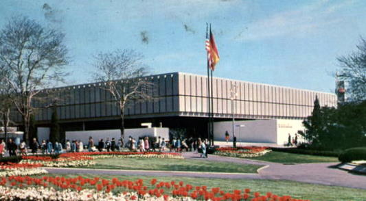 1964 worlds fair Spanish pavilion