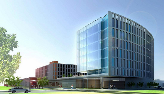a new 200,000 sq ft BJC building is planned along Clayton Avenue at Boyle