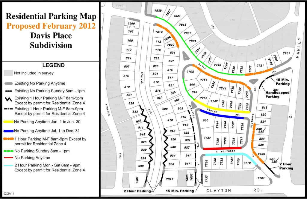 Clayton_David Place parking restrictions