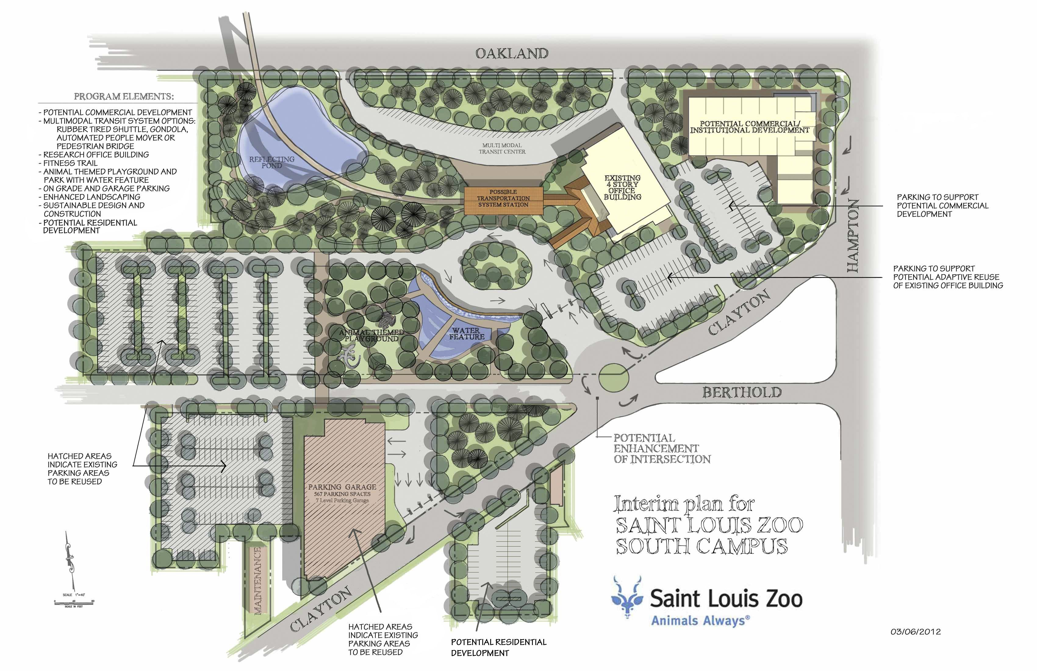 St. Louis Zoo - expansion