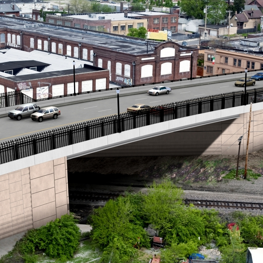 Kingshighway viaduct project - City of St. Louis, 2013