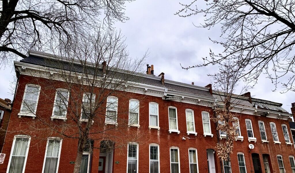 St. Louis: The Row House City