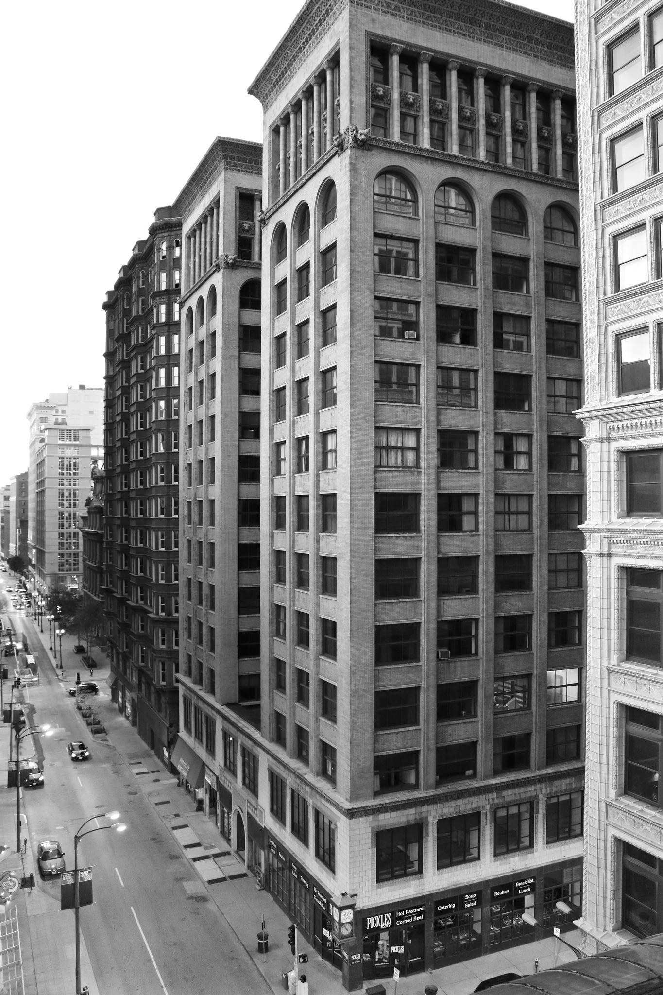Adler & Sullivan 705 Olive Building to Become Boutique Marriott Hotel