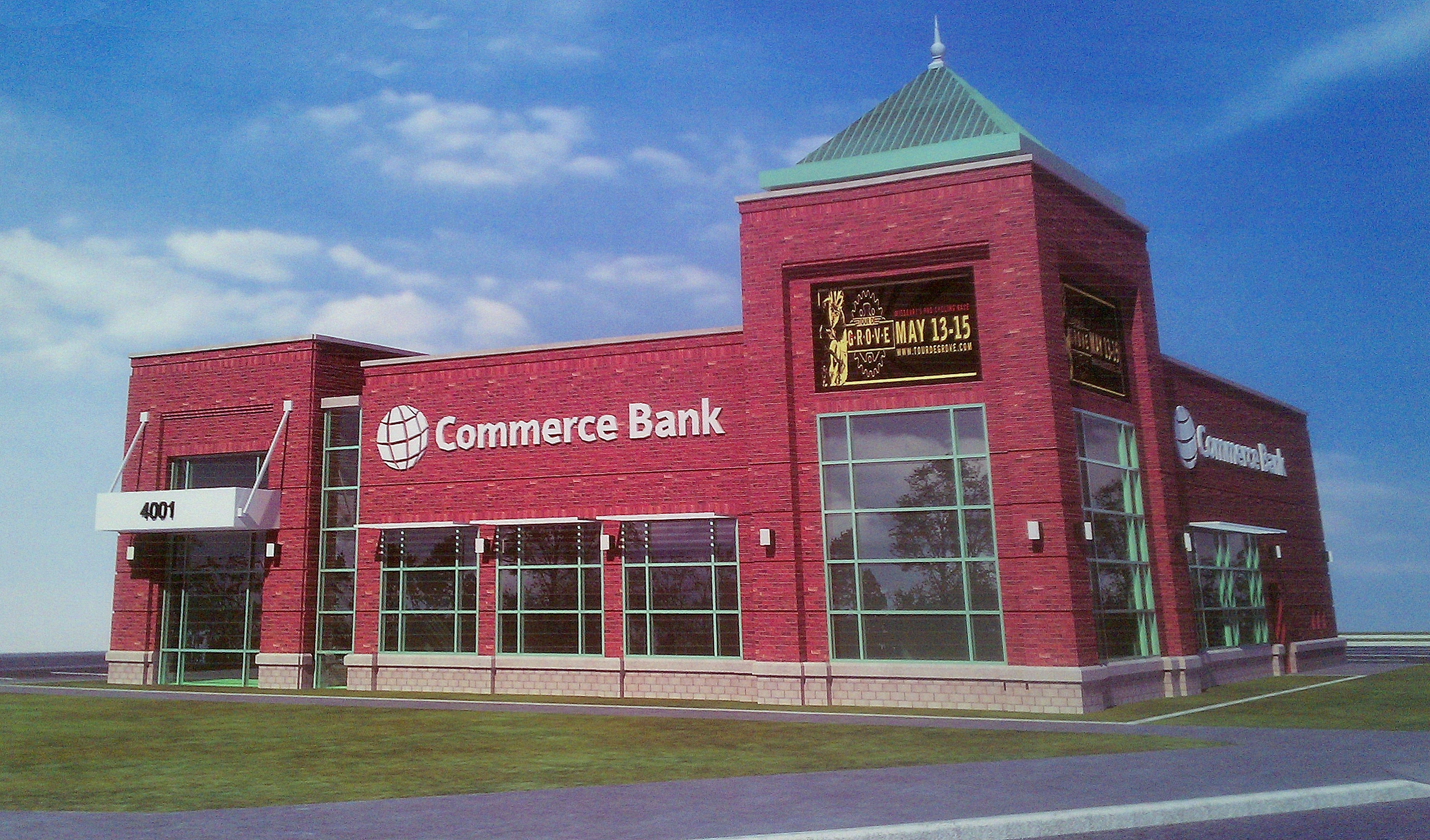Commerce Bank To Sell 45 Acres In The Grove Demolish And Replace