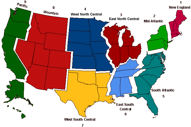 Mental Map Of The Midwest From St Louis NextSTL - Map us time zones states
