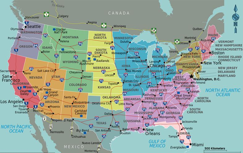 Mental Map Of The Midwest From St Louis NextSTL - Midwest usa map
