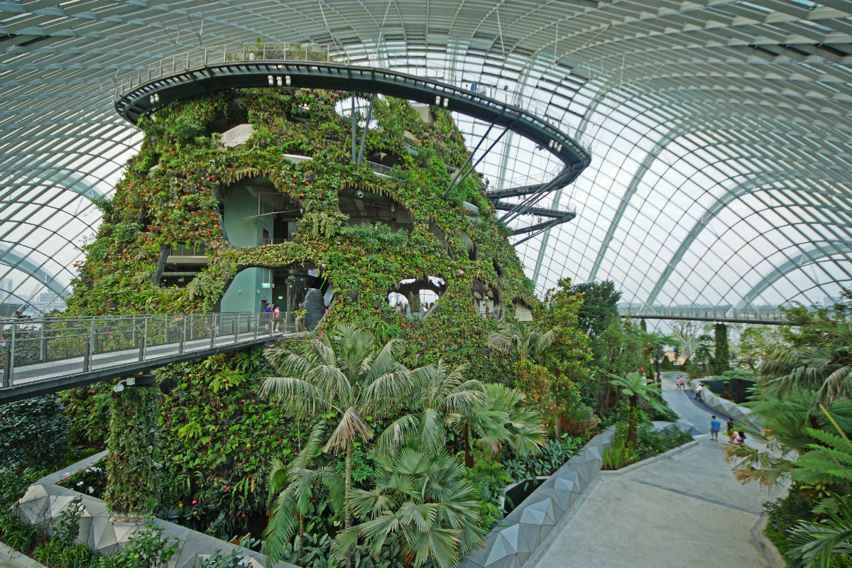 Cloud Forest_Gardens by the Bay Singapore