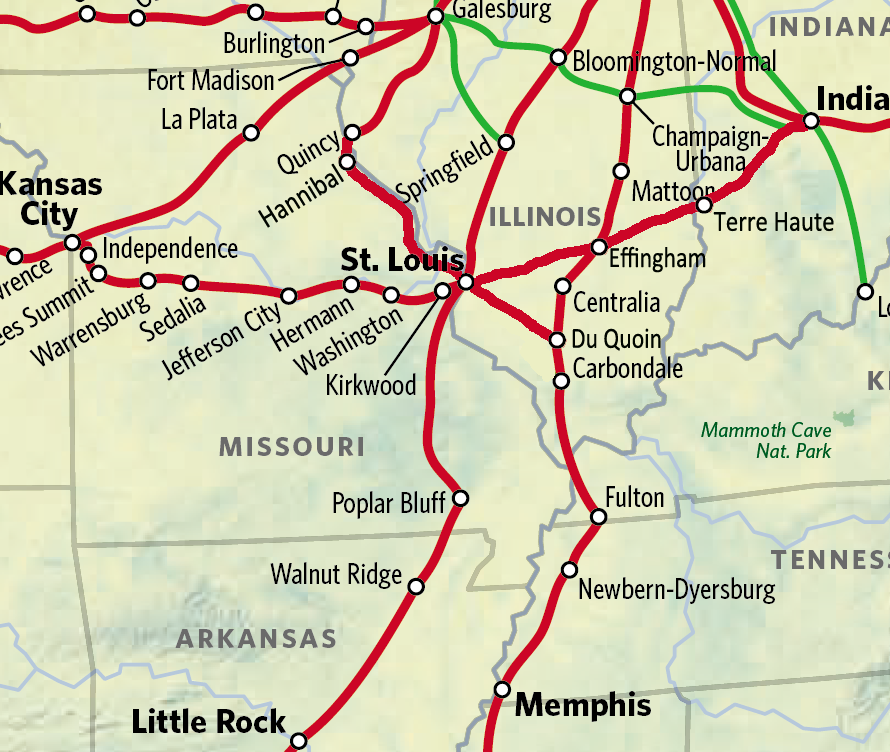 A Passenger Rail Network for St. Louis For Real This Time