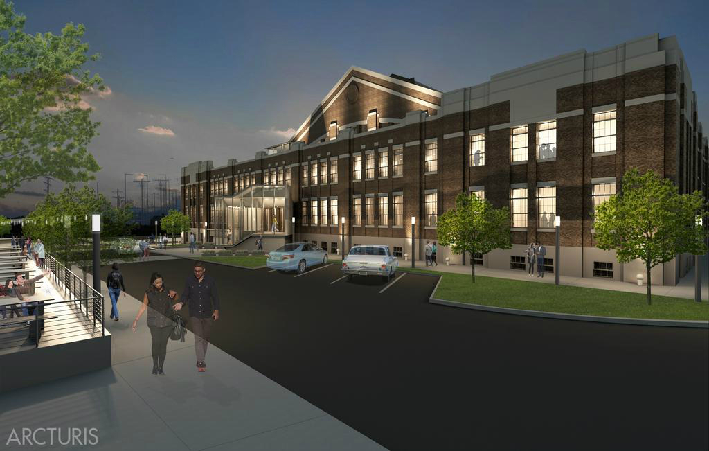 Plans for Armory Transformation Detailed in New Renderings by Arcturis
