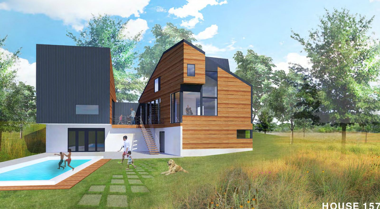 UIC Reveals Plan for Contemporary Homes at Ballas and Ladue