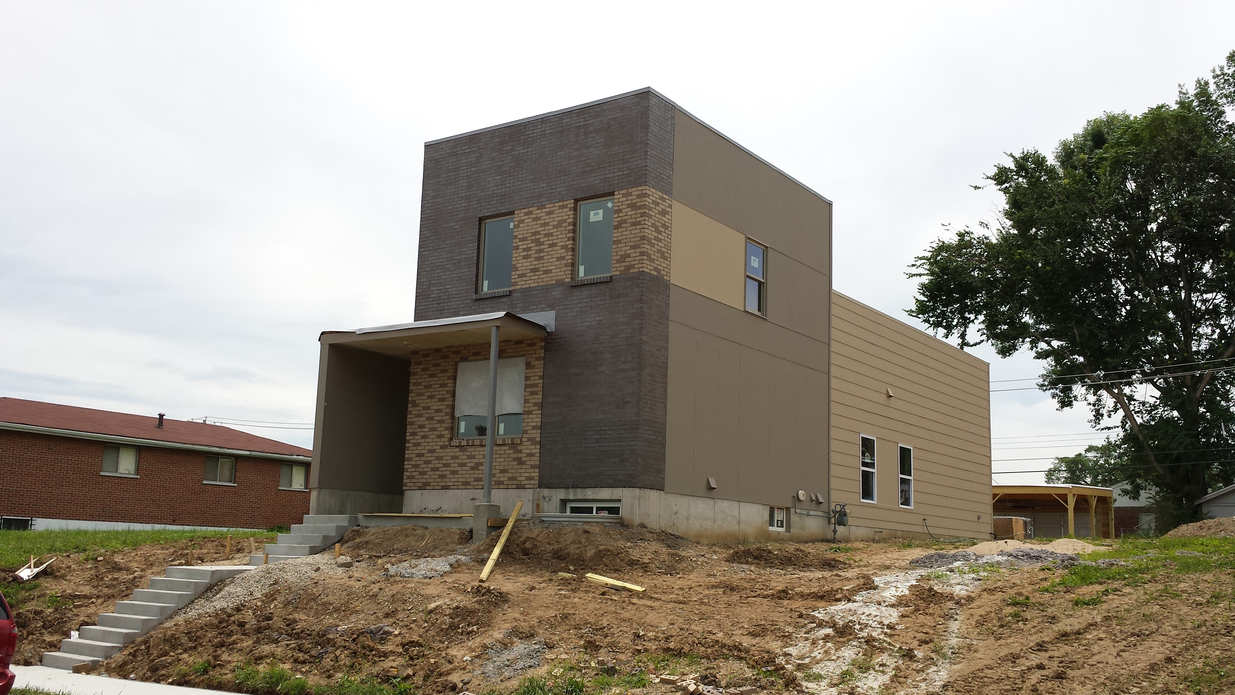 New Botanical Heights Single Family Home Nearly Complete (4150 Blaine)