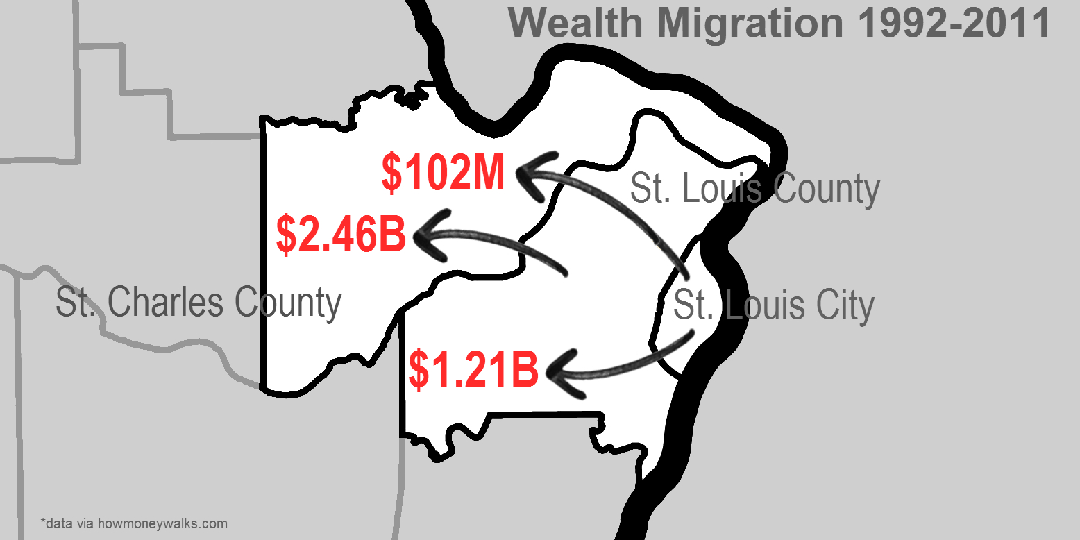 As Wealth and Residents Flee, St. Louis County Munis Turn to Fines and Fees