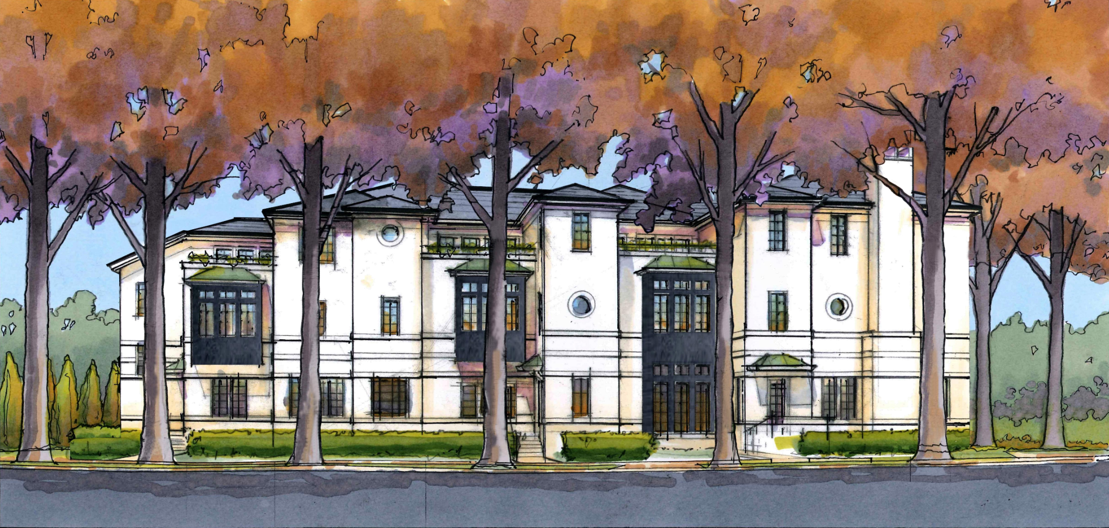 Townhomes Planned for Harris Armstrong Home Site in Clayton