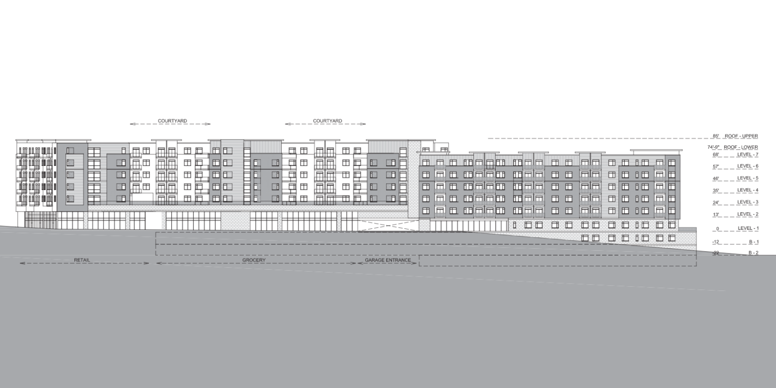 Revised Design Presented for Vacant Hanley-Clayton Road Site