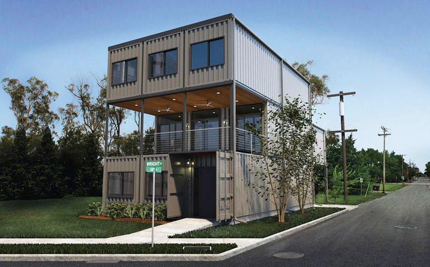 st louis city 39 s first shipping container home planned in old north nextstl. Black Bedroom Furniture Sets. Home Design Ideas