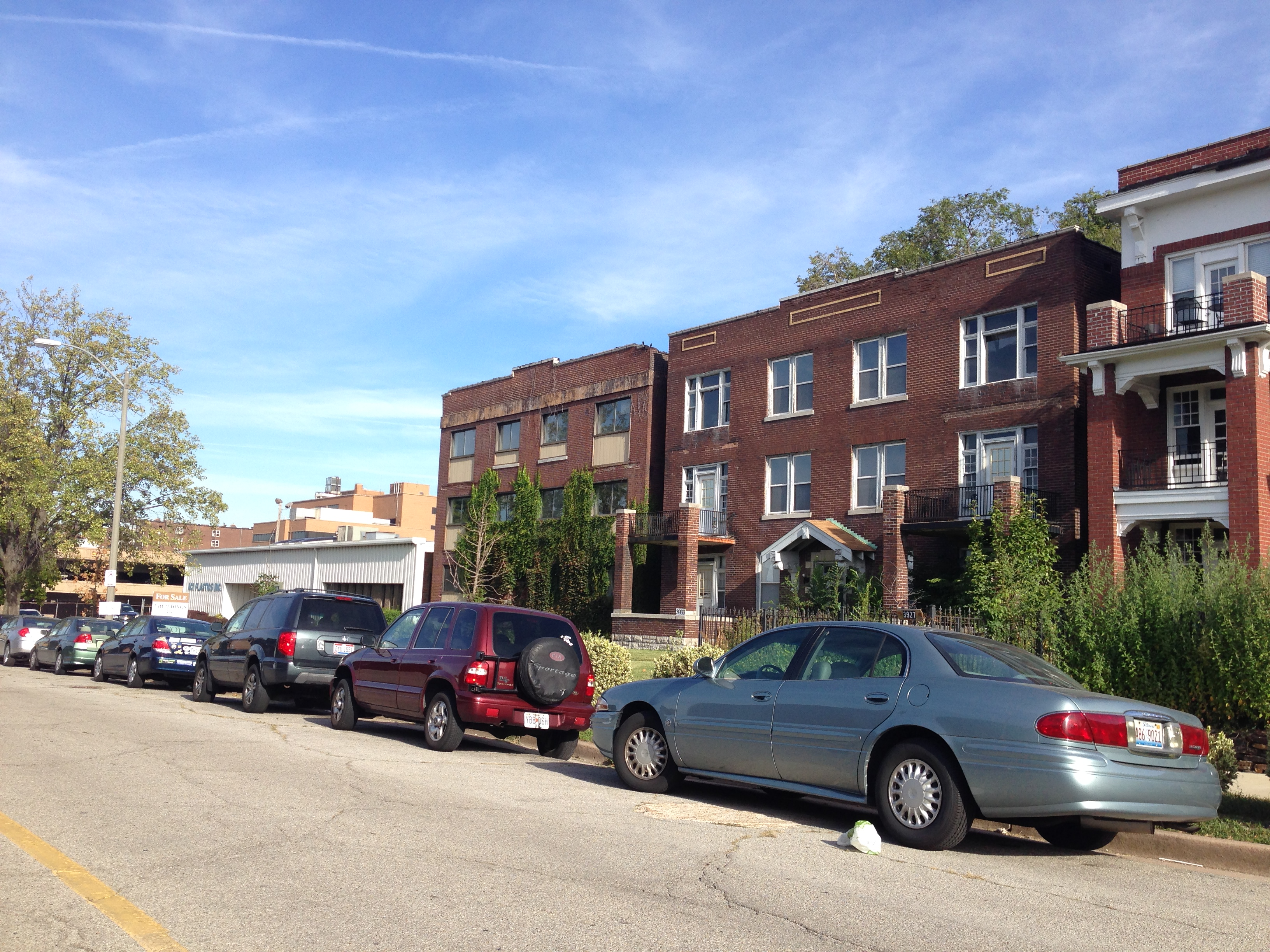 Another New Apartment Building on the Horizon for SLU Area? (3933-59 West Pine)