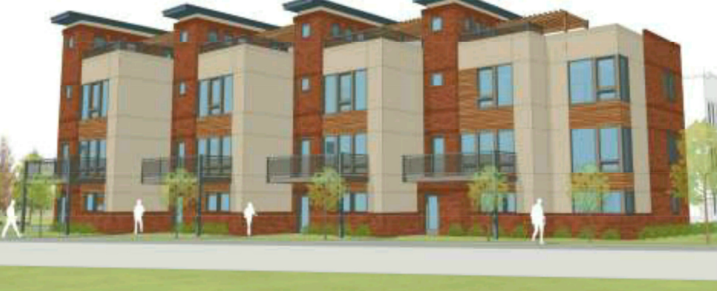 Contemporary Townhomes Planned for STL's Skinker-DeBaliviere Neighborhood