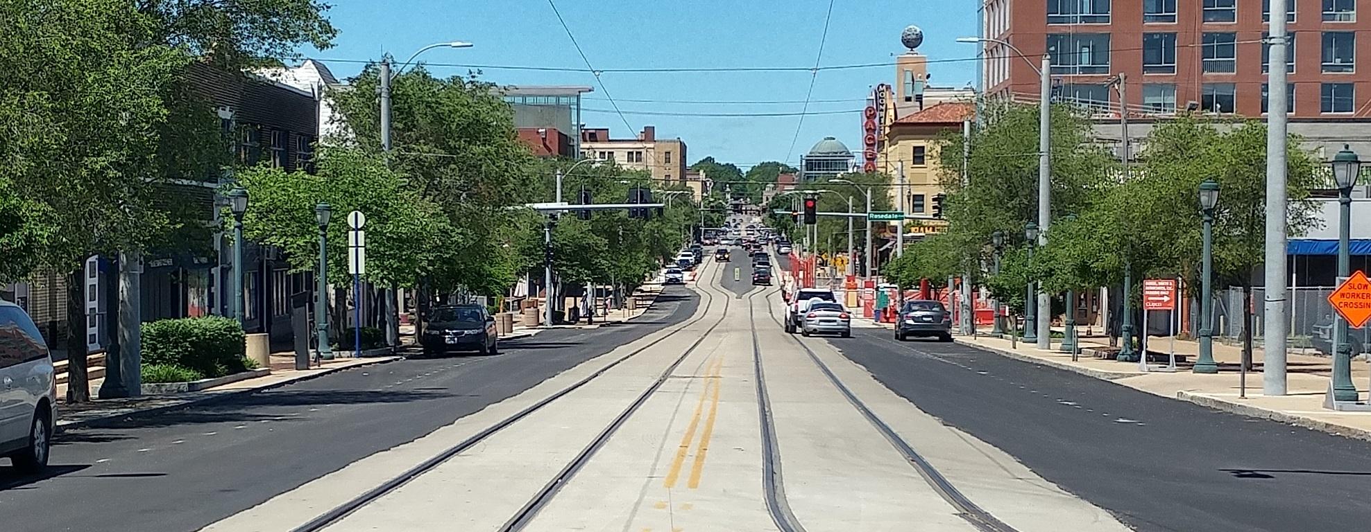 Loop Trolley Corridor Photo Tour: Delmar from Des Peres to Limit