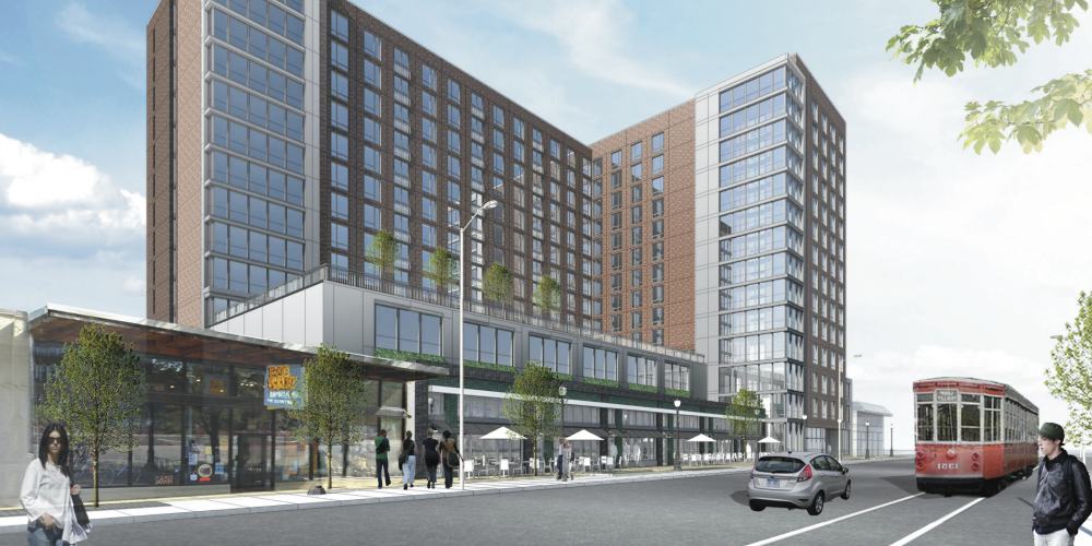 14-Story Mixed Use Infill in The Loop Gets Refined Design, Set for City Approval