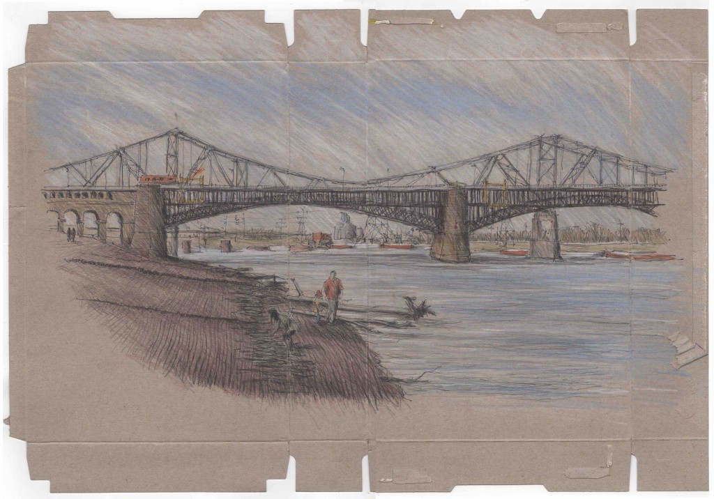 Australian Architect's Incredible Sketches of St. Louis