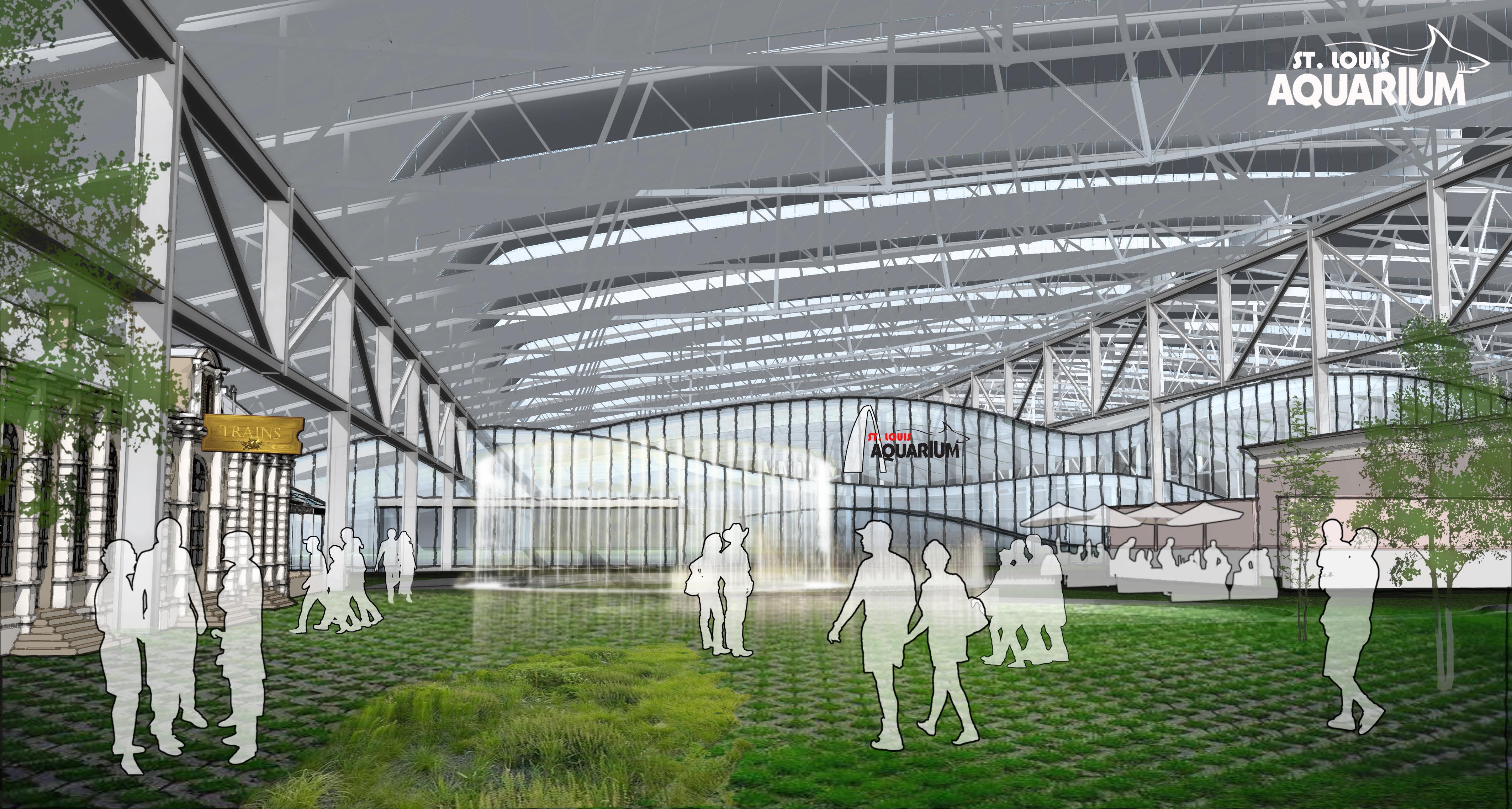 1M Gallon, $45M Aquarium Announced for St. Louis Union Station