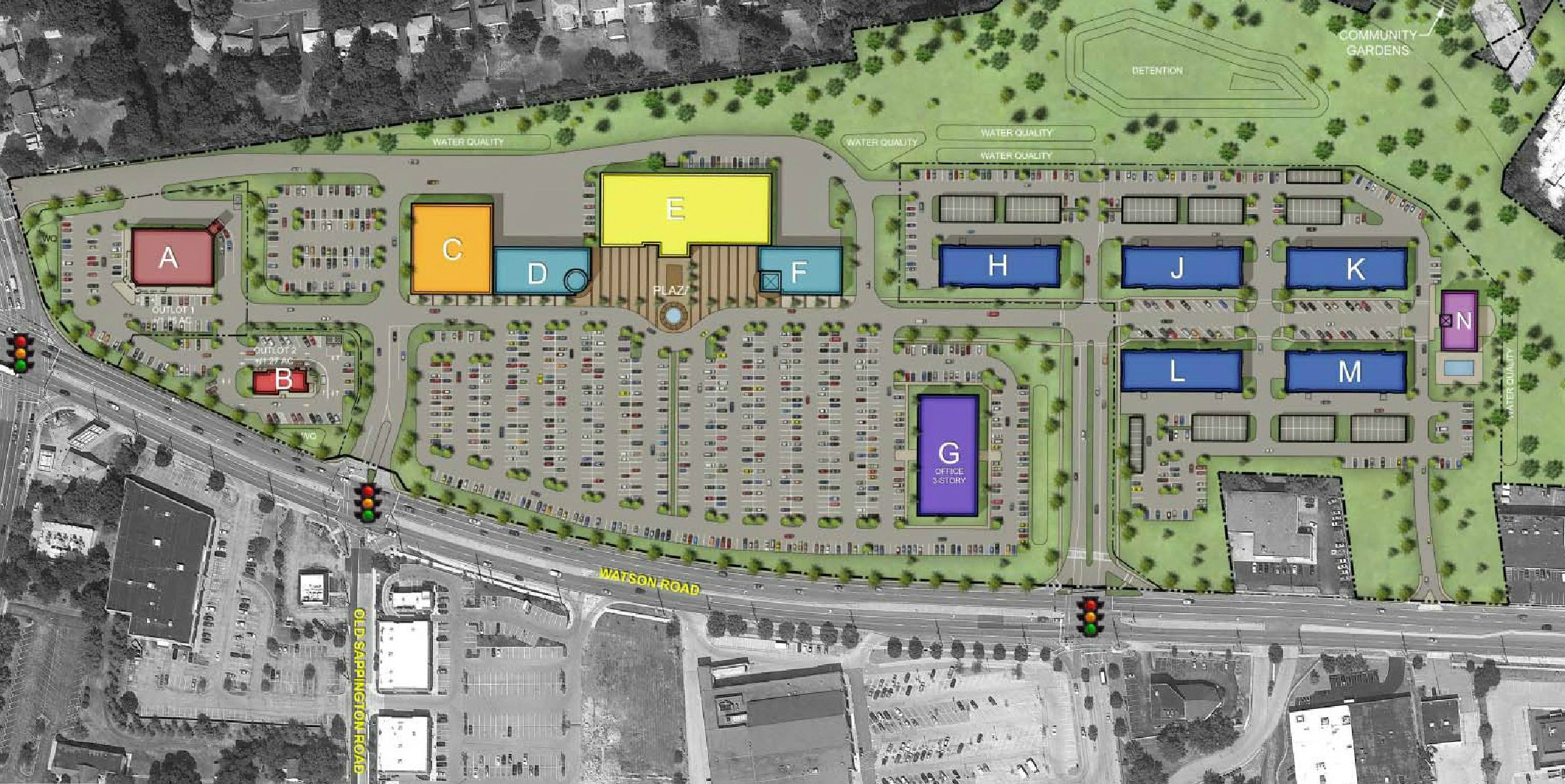 Crestwood Mall Redevelopment Plan Features Retail, 225 Apartments